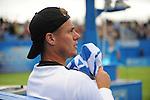 Lleyton Hewitt (AUS) loses at Queens