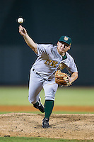 Lynchburg Hillcats relief pitcher Benino Pruneda (13) in action against the Winston-Salem Dash at BB&T Ballpark on August 13, 2014 in Winston-Salem, North Carolina.  The Hillcats defeated the Dash 4-3.   (Brian Westerholt/Four Seam Images)