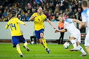 SOLNA, SWEDEN - OCTOBER 16: Andreas Granqvist of Sweden during the UEFA International Friendly match between Sweden and Slovakia at Friends Arena on October 16, 2018 in Solna, Sweden. Photo by David Lidstrom/LP<br /> ***BETALBILD***