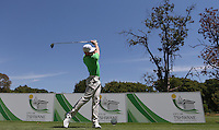 Oliver Fisher (ENG) on the 4th tee during the practice day ahead of the Tshwane Open 2015 at the Pretoria Country Club, Waterkloof, Pretoria, South Africa. Picture:  David Lloyd / www.golffile.ie. 10/03/2015