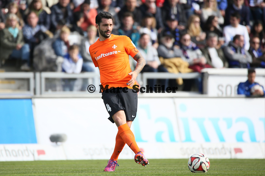 Aytac Sulu (SV 98)- FSV Frankfurt vs. SV Darmstadt 98, Frankfurter Volksbank Stadion