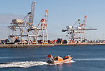 Fremantle Port - Australian Customs patrol boat, Fremantle port, Western Australia
