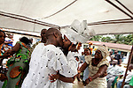 Traditional Wedding in Monrovia, Liberia, 2010.