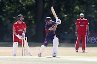 Naail Dar in batting action for Wanstead during Wanstead and Snaresbrook CC vs Hornchurch CC, Shepherd Neame Essex League Cricket at Overton Drive on 30th June 2018