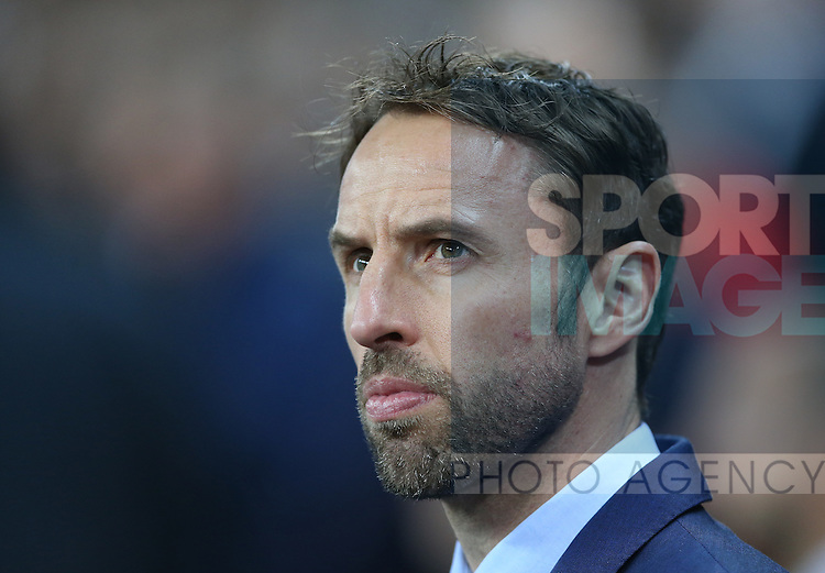 England's interim manager Gareth Southgate during the International Friendly match at Wembley Stadium, London. Picture date: November 15th, 2016. Pic David Klein/Sportimage