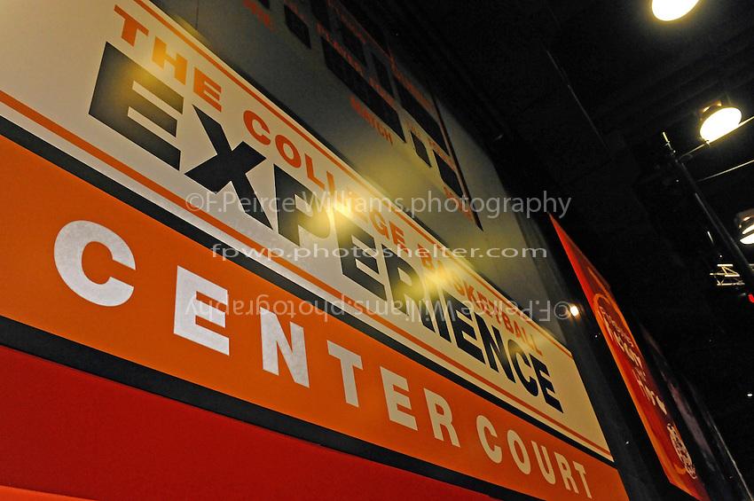 30 September, 2010, Kansas City, Kansas USA.The College Basketball Experience.©2010, F. Peirce Williams, USA.