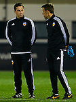 New coach Gary Neville takes his first public training session with brother Phil Neville - UEFA Champions League -  pre match Training Session - Valencia CF vs Lyon  - Paterna Training Ground - Valencia - Spain - 7th December 2015 - Pic David Aliaga/Sportimage