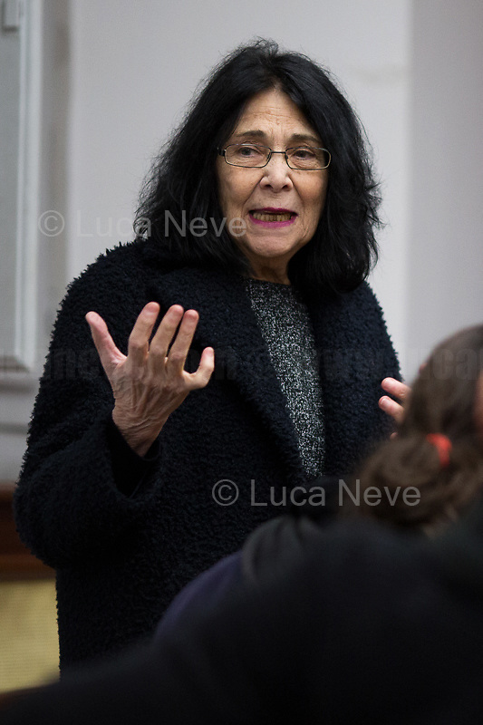 """Patrizia Bisci (Curator).<br /> <br /> Rome, 27/01/2020. Today is the International Holocaust Day, also called Holocaust Memorial Day in UK & Italy. A day designated by the UN General Assembly resolution 60/7 on 1 November 2005 to remember the victims of the Holocaust: 6 million Jews, 2 million Gypsies (Roma & Sinti), 15,000 homosexual people, and millions of others killed by the Nazi regime and its collaborators. The 27th of January (1945) marks the day of the liberation by the Soviet Union Army of the largest death camp, Auschwitz-Birkenau (75th Anniversary). To coincide with the Holocaust Memorial Day the Theater and Kunst Diletta Benincasa Foundation - Berlin (1.), supported by the Biblioteca di Storia Moderna e Contemporanea (Palazzo Mattei), promoted the event called """"Displaced"""" curated by Patrizia Bisci (2.). From the organizers press release: «The project unfolds in a path inside the old ghetto of Rome and materializes in installations, works and performances. […] the world of experiences and experimentation of the artists will thus become the ideal basis for understanding collective history. In fact, """"Displaced persons"""", a historical name with both positive and negative value, is the theme in memory of the history of Europe, when at the end of the Second World War the extermination camps were freed by the armies of the allies. Eleven million prisoners, among whom only a few thousand surviving Jews, no longer knew where to return. The houses, their lives were destroyed, occupied by others. Where to return? […]».<br /> <br /> Footnotes & Links:<br /> 1. http://bit.do/fqRC2<br /> 2. http://bit.do/fqRCF<br /> Nel Giorno Della Memoria (Source, Treccani.it) http://bit.do/fqRG5<br /> 27.01.19 Holocaust Memorial Day 2019 - Never Forget - Witnesses Of Witnesses http://bit.do/fqRXh"""