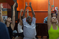 Open and free yoga practices are held every Saturday at the Shine center in Nairobi's parklands. The classes are taught and assisted by Africa Yoga Project instriuctors and attended by a large cross selection of Nairobi's population.