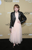 "LOS ANGELES, CA - JANUARY 13: Bella Higginbotham, at the Premiere Of Amazon Studios' ""Troop Zero"" at Pacific Theatres at The Grove in Los Angeles, California on January 13, 2020. <br /> CAP/MPIFS<br /> ©MPIFS/Capital Pictures"