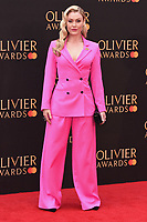 Camilla Kerslake<br /> arriving for the Olivier Awards 2019 at the Royal Albert Hall, London<br /> <br /> ©Ash Knotek  D3492  07/04/2019