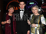 Margaret and Diarmuid Quinn and Margaret Horan at the ABACAS Ball in the Westcourt Hotel. Photo:Colin Bell/pressphotos.ie