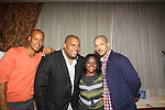 Max Tapper, Sean Ringgold, Shenell Edmonds, Terrell Tilford at The One Life To Live Lucheon at the Hemsley Hotel in New York City, New York on October 9, 2010. (Photo by Sue Coflin/Max Photos)