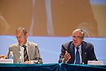 Congreso anual de la FAD (Fundación de Ayuda contra la Drogadicción). Acto de Inauguración. Juan Carlos Mato e Ignacio Calderón.
