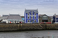 Harbourmaster Hotel in Aberaeron, Ceredigion, Wales, UK. Wednesday 21 March 2018