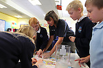 Welsh Water lesson at Pembroke Primary School..12.10.12.©Steve Pope