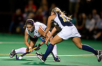 STANFORD, CA - September 3, 2010: Becky Dru during a field hockey match against UC Davis in Stanford, California. Stanford won 3-1.