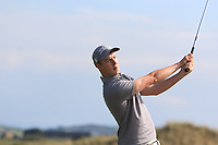 Jack McDonnell (Forrest Little) on the 15th tee during Round 3 of the East of Ireland Amateur Open Championship 2018 at Co. Louth Golf Club, Baltray, Co. Louth on Monday 4th June 2018.<br /> Picture:  Thos Caffrey / Golffile<br /> <br /> All photo usage must carry mandatory copyright credit (&copy; Golffile | Thos Caffrey