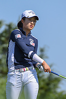 Yu Liu (CHN) watches her tee shot on 3 during round 2 of  the Volunteers of America LPGA Texas Classic, at the Old American Golf Club in The Colony, Texas, USA. 5/6/2018.<br /> Picture: Golffile | Ken Murray<br /> <br /> <br /> All photo usage must carry mandatory copyright credit (&copy; Golffile | Ken Murray)