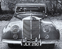BNPS.co.uk (01202 558833)<br /> Pic: Historics/BNPS<br /> <br /> The strange looking Roller in the 1940's, the famous marque refused to build the car.<br /> <br /> You can't buy taste -  - An eccentric billionaires flight of fancy Rolls Royce creation is coming up for auction.<br /> <br /> Armenian oil magnate Nubar Gulbenkian's personal design was so wacky that Rolls Royce refused to build the car for him, and he had to commission coachbuilders Hoopers of London<br /> to make his sketches into reality.<br /> <br /> Known for his crazy, off the cuff nature, Gulbenkian, who was one of the world's richest men at the time, would regularly pen sketches of strange-looking vehicles before having them made for real.<br /> <br /> Estimated at £30,000, the unique survivor in partly restored state is now waiting for a new owner with deep pockets to bring the one off motor back to life.