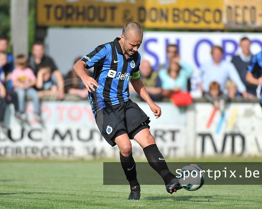 Torhout KM - Club Brugge KV : Jonathan Blondel<br /> foto VDB / Bart Vandenbroucke
