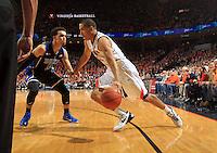 Virginia guard Malcolm Brogdon (15) during an ACC basketball game Jan. 31, 2015 in Charlottesville, VA. Duke won 69-63.