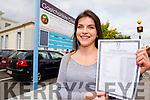 Róisín Ní Churrai student at Gaelcholáiste Chairraí who got 11 A's in the Junior Certificate exam.