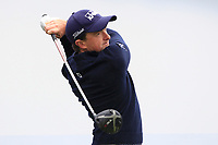 Paul Dunne (IRL) on the 5th tee during Round 1 of the Betfred British Masters 2019 at Hillside Golf Club, Southport, Lancashire, England. 09/05/19<br /> <br /> Picture: Thos Caffrey / Golffile<br /> <br /> All photos usage must carry mandatory copyright credit (© Golffile | Thos Caffrey)