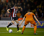 Enda Stevens of Sheffield Utd during the Championship match at the Bramall Lane Stadium, Sheffield. Picture date 27th September 2017. Picture credit should read: Simon Bellis/Sportimage