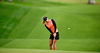 Pernilla Lindberg, of Sweden, plays a chip shot from in front of the 7th green during the third round of the ANA Inspiration at the Mission Hills Country Club in Palm Desert, California, USA. 3/31/18.<br /> <br /> Picture: Golffile | Bruce Sherwood<br /> <br /> <br /> All photo usage must carry mandatory copyright credit (&copy; Golffile | Bruce Sherwood)during the second round of the ANA Inspiration at the Mission Hills Country Club in Palm Desert, California, USA. 3/31/18.<br /> <br /> Picture: Golffile | Bruce Sherwood<br /> <br /> <br /> All photo usage must carry mandatory copyright credit (&copy; Golffile | Bruce Sherwood)
