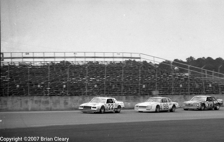 Firecracker 400 at Daytona International Speedway in Daytona Beach, FL on July 4, 1983. (Photo by Brian Cleary/www.bcpix.com)