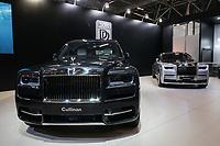 SÃO PAULO, 08.11.2018  - SALAO DO AUTOMOVEL  - Rolls Royce Cullinan exibidos na 30ª edição do Salão do Automóvel nesta quarta-feira (08) no São Paulo Expo, zona sul da capital paulista.<br /> (Foto: Fabricio Bomjardim / Brazil Photo Press)