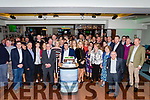 Patrick Tatler O'Sullivan celebrated his 50th birthday with his family and friends in the Sea Lodge Hotel Waterville on Friday night
