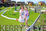 Marie Hanrahan and daughter Cliona at the new visitor attraction in Ballybunion, miniture golf which is a replica of Ballybunion Golf Coure.Marie Hanrahan and daughter Louise at the new visitor attraction in Ballybunion, miniture golf which is a replica of the Old Ballybunion Golf Course.