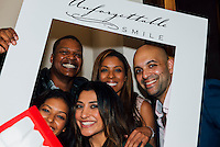 Dwayne Brown, Angel Osornio, Ashley Larae, Jomana Wahab, and Dr. Aamir Wahab at Unforgettable Smile Ribbon Cutting Ceremony on Oct. 22, 2014 (Photo by Tiffany Chien/Guest Of A Guest)