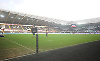A general view of Liberty Stadium, home of the Ospreys<br /> <br /> Photographer Kevin Barnes/CameraSport<br /> <br /> Guinness Pro14 Round 13 - Ospreys v Cardiff Blues - Saturday 6th January 2018 - Liberty Stadium - Swansea<br /> <br /> World Copyright &copy; 2018 CameraSport. All rights reserved. 43 Linden Ave. Countesthorpe. Leicester. England. LE8 5PG - Tel: +44 (0) 116 277 4147 - admin@camerasport.com - www.camerasport.com