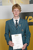 Boys Mountain Biking winner Adrian Retief. ASB College Sport Young Sportperson of the Year Awards 2007 held at Eden Park on November 15th, 2007.