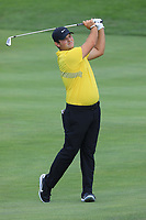 Patrick Reed (USA) in action during the third round of the Northern Trust played at Liberty National Golf Club, Jersey City, USA. 10/08/2019<br /> Picture: Golffile | Phil INGLIS<br /> <br /> All photo usage must carry mandatory copyright credit (© Golffile | Phil Inglis)