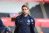 4th November 2017, Liberty Stadium, Swansea, Wales; EPL Premier League football, Swansea City versus Brighton and Hove Albion; Tim Krul of Brighton arrives before the game