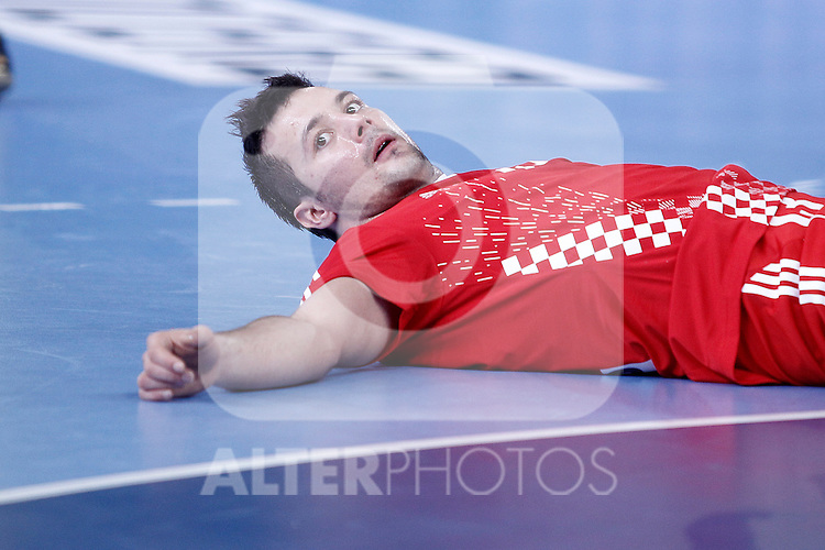 Croatia's Zlatko Horvat during 23rd Men's Handball World Championship preliminary round match.January 12 ,2013. (ALTERPHOTOS/Acero)