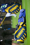 European Team Golf Bags during Practice Day at the 2006 Ryder Cup at The K Club 20th September 2006..Photo: Eoin Clarke/Newsfile.