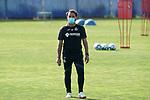 Getafe's coach Jose Bordalas during training session. May 25,2020.(ALTERPHOTOS/Acero)