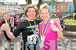 Kay Cronin and Cecelia Cremin from Mallow who came to Kenmare for the Jack and Jill run on Saturday.