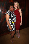 Da'Vine Joy Randolph & Nina Arianda.Behind the Scenes at the 2012 Tony Award-Meet The Nominees Press Reception at Millennium Broadway Hotel on May 2, 2012 in New York City. © Walter McBride/WM Photography .