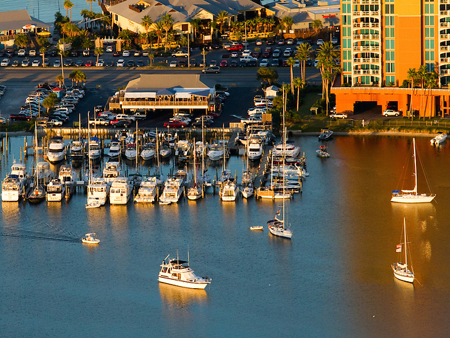 Aerial image of Pensacola Beach Yacht Club