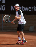 10-08-13, Netherlands, Rotterdam,  TV Victoria, Tennis, NJK 2013, National Junior Tennis Championships 2013,  Lodewijk Westrate wins boys  12 years<br /> <br /> Photo: Henk Koster