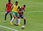 Deportes Quindío derrotó 2-1 al Real Cartagena durante el partido por la fecha 2 de los cuadrangulares de ascenso Liga Águila 2015 jugado en el estadio Metropolitano de Bogotá