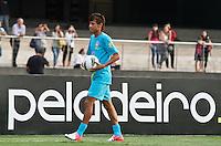 ATENÇÃO EDITOR: FOTO EMBARGADA PARA VEÍCULOS INTERNACIONAIS - SÃO PAULO,SP,06 SETEMBRO 2012 - TREINO SELEÇÃO BRASILEIRA Neymar durante treino da seleção brasileira na tarde de hoje no estadio Cicero Pompeu de Toledo (Morumbi).FOTO ALE VIANNA - BRAZIL PHOTO PRESS.