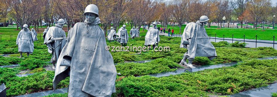 Washington DC: Korean War Veterans Memorial CGI Backgrounds, ,Beautiful Background