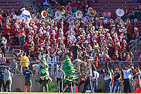 STANFORD, CA - OCTOBER 25, 2014:  Band and Trees during Stanford's game against Oregon State. The Cardinal defeated the Beavers 38-14.
